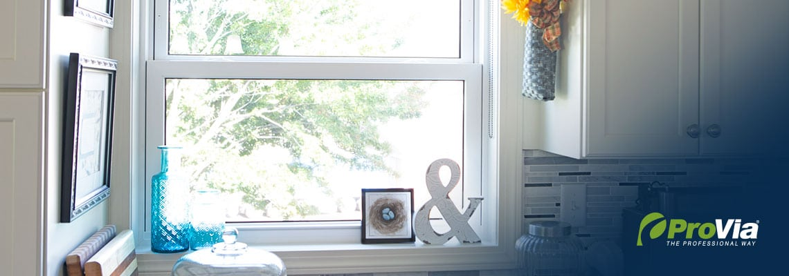 ProVia Double Hung Window