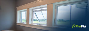 Awning Windows in Laundery Room