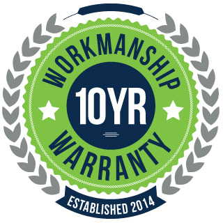 10 Year Workmanship Guarantee
