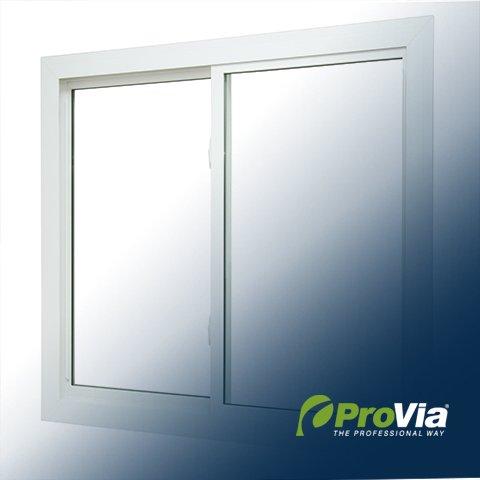 Provia Slider Window Cutout