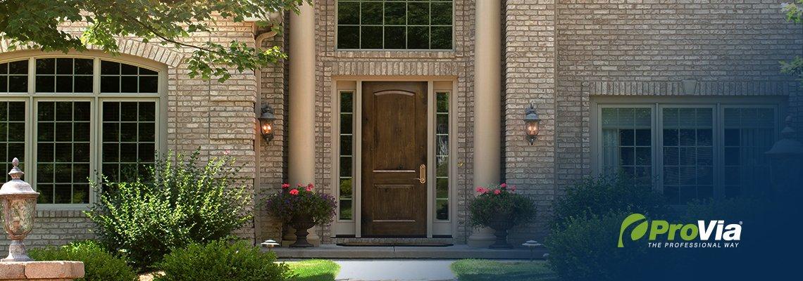 hous with a Provia door