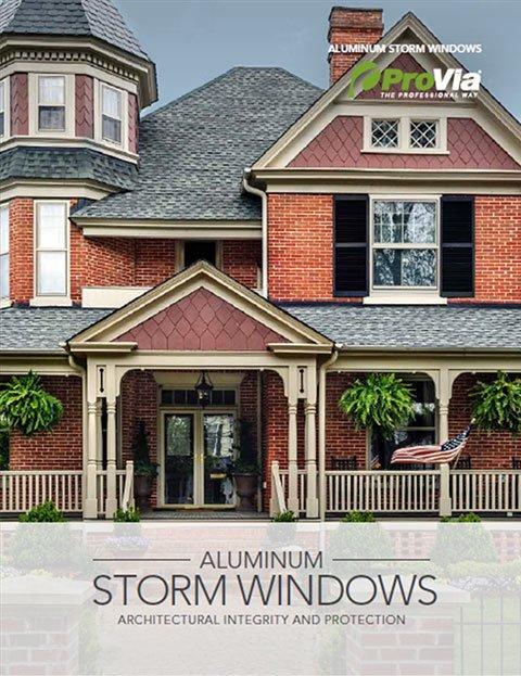 ProVia Aluminum Storm Window Brochure