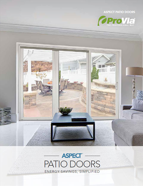ProVia Aspect™ Patio Door Brochure