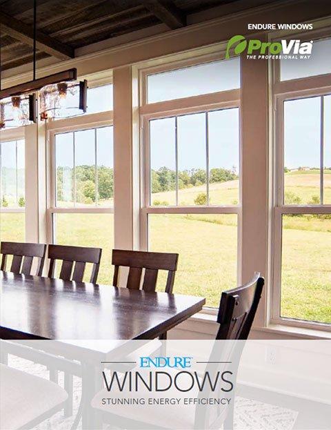 ProVia Endure™ Windows Brochure