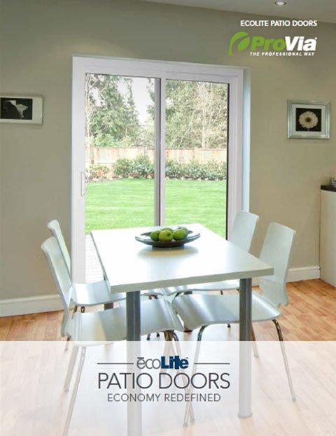 ProVia ecoLite™ Patio Door Brochure