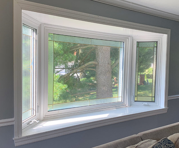Replacement ProVia Bay Window In Living Room