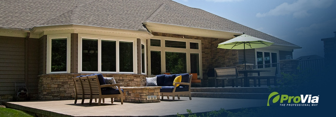 Aeris Windows - Exterior - Back of House- Featured