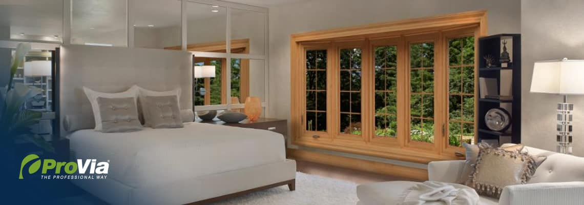 ProVia double hung windows