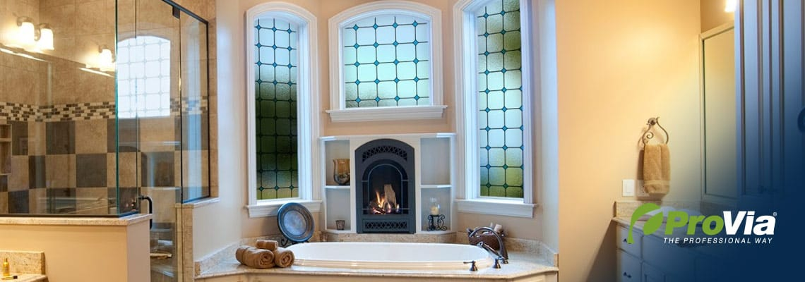 replacement bathroom windows by ProVia