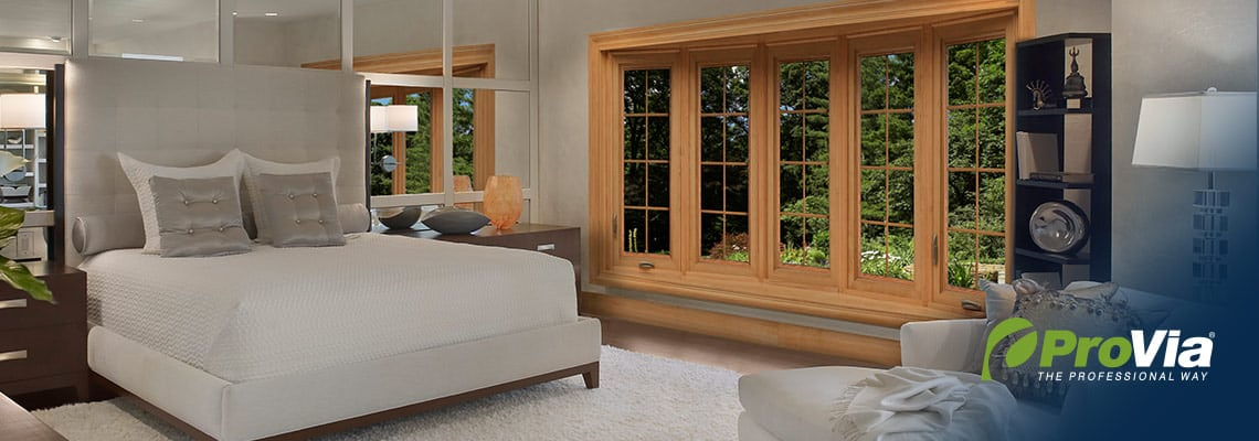 beautiful windows in bedroom by ProVia
